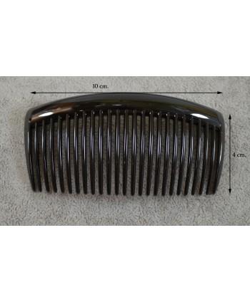 Bransoletka srebrna z czarnymi oczkami BS0845