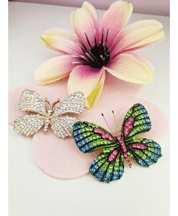 Broszki ozdobne motyle