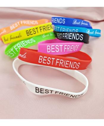 Silikonowe bransoletki BEST FRIENDS