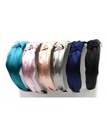 Opaski z węzłem satynowe kolory