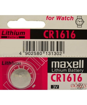 Bateria CR1616