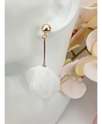 Koła pozłacane z kryształkami- 1,2 cm