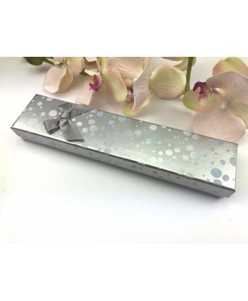 Kolczyki granatowe dżety- 0,5 cm