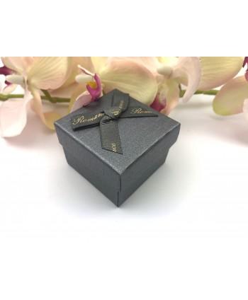 Kolczyki czarne dżety- 0,6 cm