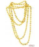 Korale długie złote