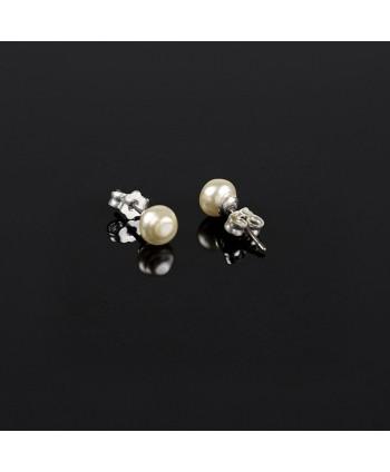 Pierścionek cięty kryształ biały PR0083