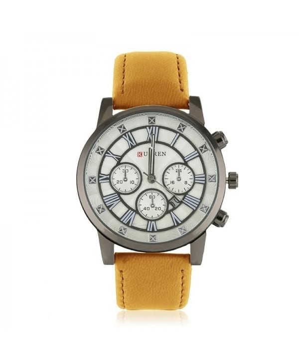 Zegarek męski - brązowy
