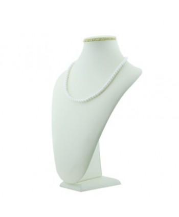 Korale długie perłowe zielone KR0032