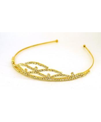 Diadem złoty korona