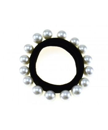 Spinka francuska złota perłowa błyszcząca OS0025