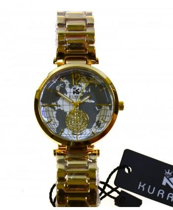 Zegarek damski ,na bransolecie ,złoty