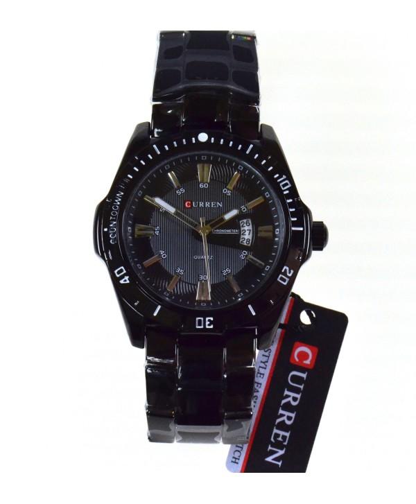 Zegarek męski , na bransolecie, czarny