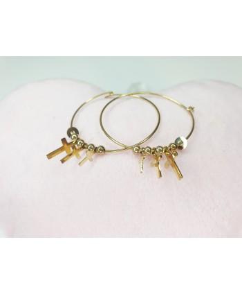 Komplet biżuterii stal KM004