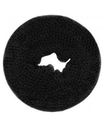 Wypełniacz do koka okrągły czarny 8cm