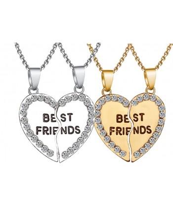 Naszyjniki przyjaźni BEST FRIENDS