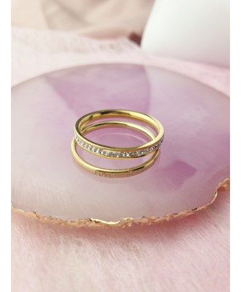 Komplet dwóch pierścionków