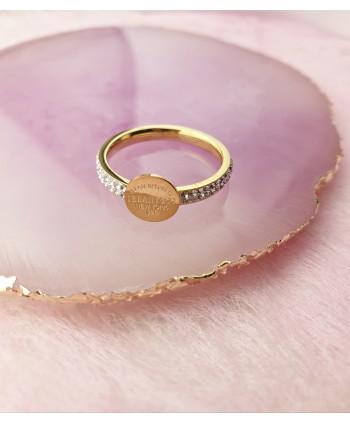Opaska ślubna z kryształkami