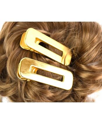 Spinka do włosów klips w kolorze złota