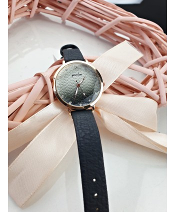 Zegarek damski z szarym ombre