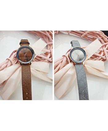 Zegarek damski z kolorową tarczą
