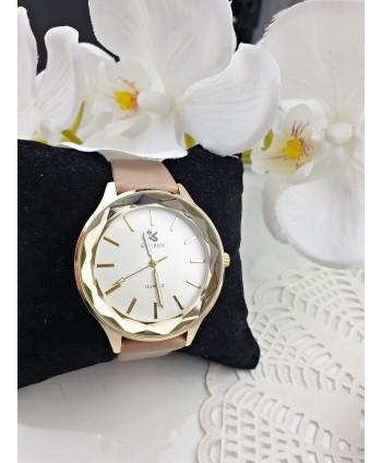 Zegarek damski beżowy pasek