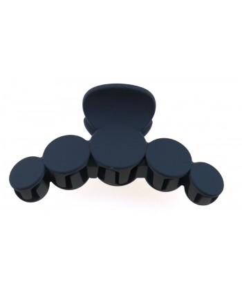 Bransoletka czarna prosta matowa