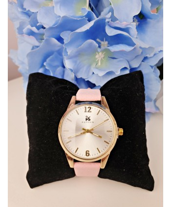 Zegarek damski niewielki różowy