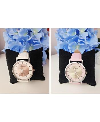 Zegarek damski dwukolorowy