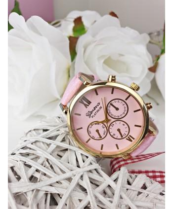 Zegarek damski cukierkowy róż