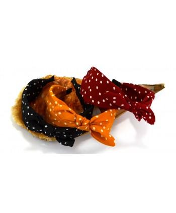Kolczyki czarna błyszcząca perła 8 cm