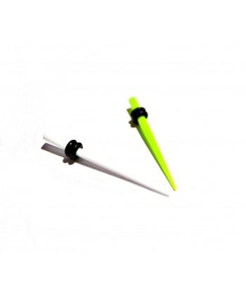 Rozpychacz taper akryl 3 mm - kolor do wyboru