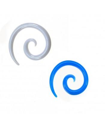 Rozpychacz spirala akryl 2 mm - kolor do wyboru