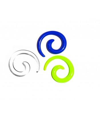 Rozpychacz spirala akryl 4 mm - kolor do wyboru