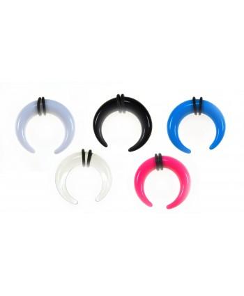 Rozpychacz rogal akryl 8 mm - kolor do wyboru
