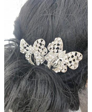 Naszyjnik z czarnych szlifowanych perełek