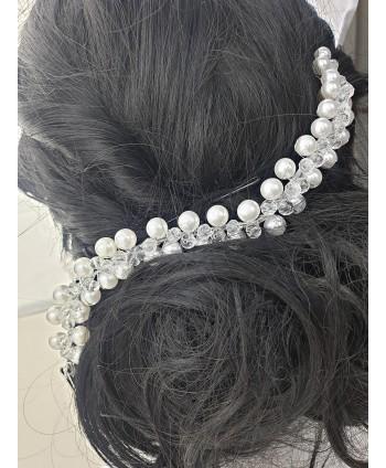 Ozdoba do włosów perełki