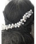 Ozdoba do włosów perły