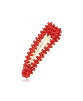 Spinka z czerwonych kryształków