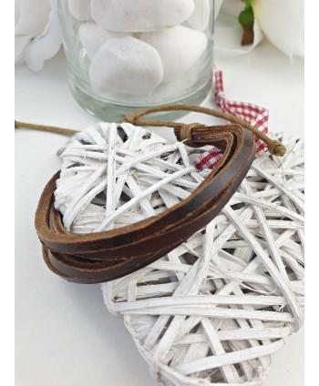 Kolczyki perła brązowa matowa- 0,8 cm