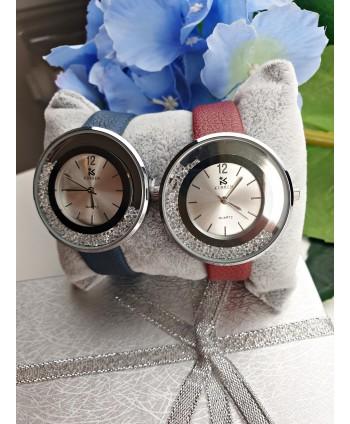 Damski zegarek z dodatkiem diamencików- kolory do wyboru