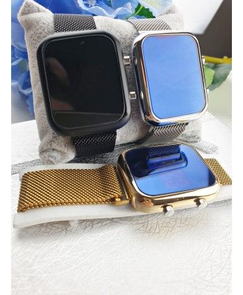 Zegarek elektroniczny na bransolecie- kolory do wyboru