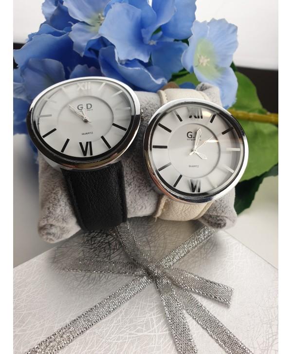 Zegarek z dużą, wypukłą tarczą- kolory do wyboru