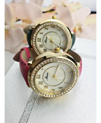Zegarek damski bogato zdobiony- kolory do wyboru