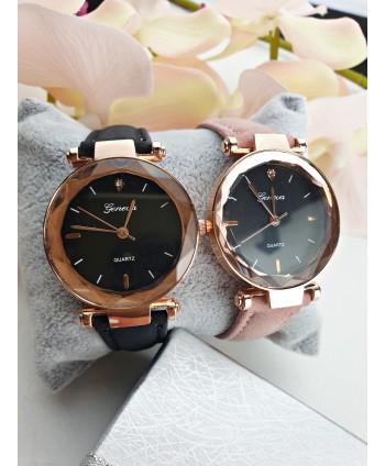 Zegarek damski z czarną tarczą- kolory do wyboru