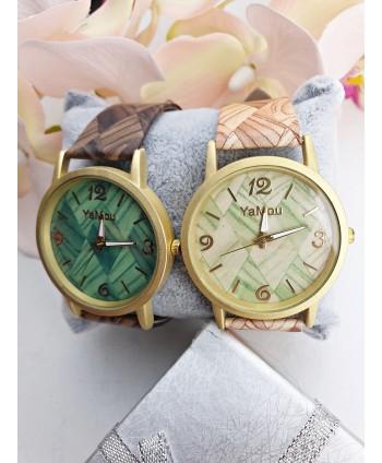 Zegarek damski z ciekawym paskiem- kolor do wyboru
