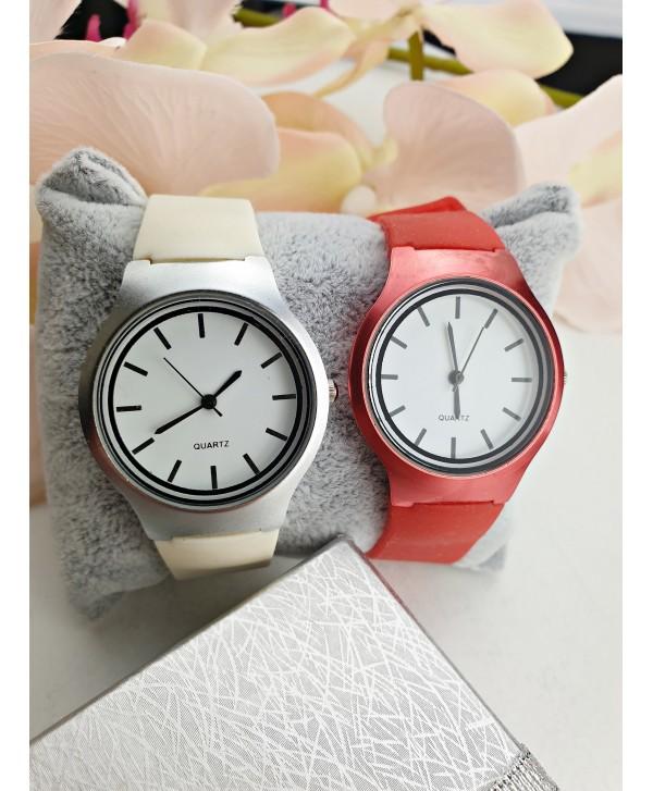 Zegarek z silikonowym paskiem- kolory do wyboru