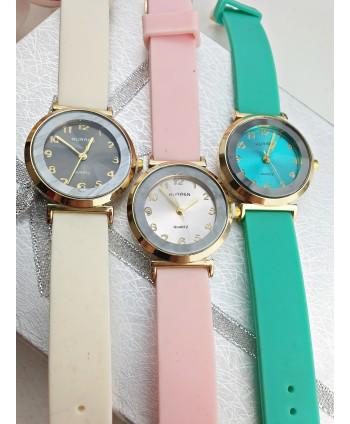 Zegarek z całym cyferblatem- kolory do wyboru