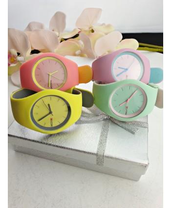 Zegarek klasyczny na silikonie- kolory do wyboru