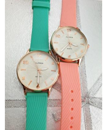 Zegarek z dodatkiem różowego złota- kolory do wyboru