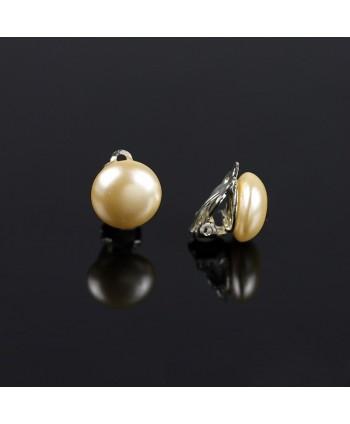 Naszyjnik z czarnych perełek matowy
